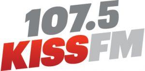 107.5KISSFM logo
