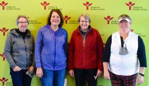 Joyce McSortey, Mary Keck, Gloria Gray, Karly Beavers
